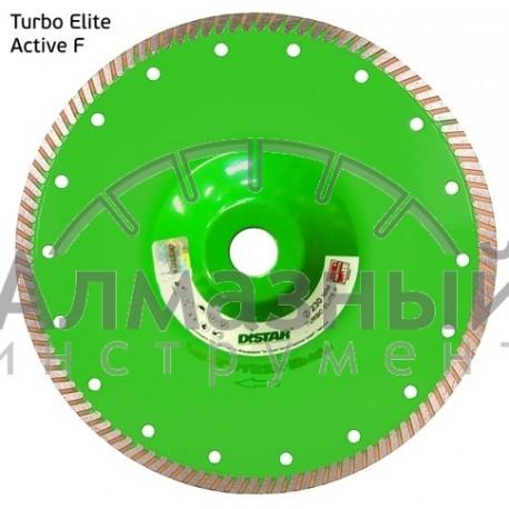 Диск алмазный Turbo 230*2,2*9*22,225 Elite Active F