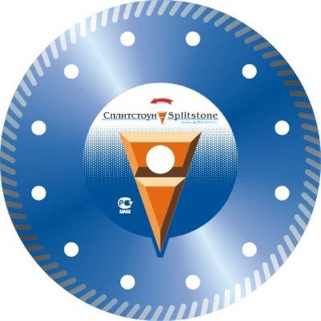 Диск алмазный 4840 Отрезной алмазный круг (Turbo 300x2,8x10x22,2 бетон 16) сухая Premium