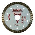 Диск алмазный GAZEL Turbo 230 Бетон 2,5 Profi