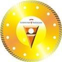 Диск алмазный Turbo 125 Мрамор 22 Standart
