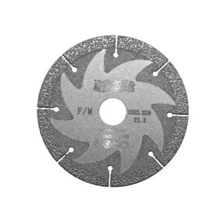 Диск алмазный по металлу F/M Cut`n`Grind 125-22,2